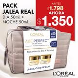 Pack Jalea Real L'oréal: Dia X50ml + Noche X50ml + Bolso