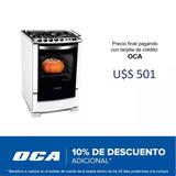 Cocina Electrolux 56stb 4h Blanco #ocaml