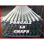 Chapa Galvanizada Para Techos 3.60m X 0.84m Esp. 0.16mm