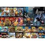 Pack De 20 Juegos De Playstation 2 Play 2 A Eleccion