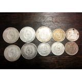 Mg* Monedas De Plata De Uruguay Al Peso Gramo - Consulte