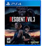 Resident Evil 3 Ps4 + Garantía Xgames Uy