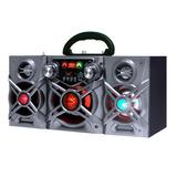 Equipo Audio Portatil Batería Karaoke Bt Sd Mic Oferta Loi