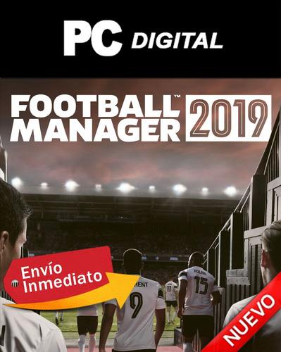 Football Manager 2019 Pc Futbol Español / Digital