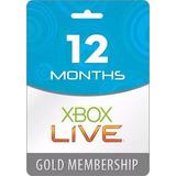 Xbox Live Gold 12 Meses Xbox One/xbox 360(mundial) 12 Cuotas