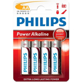 Blister Pilas Alcalinas Philips Aa 1.5v ( Pack 4 Unidades )®