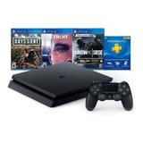 Playstation 4 Slim 1tb Hits Bundle Con Juegos - Netpc