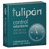 Preservativo Lubricado Tulipan Control C Benzocaina Retarda