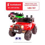 Auto Jeep Compact Batería C.remot Luz Música Español! El Rey