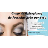 Perfeccionamiento Extensiones De Pestañas/microblading/curso