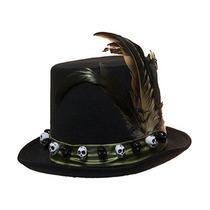 Sombrero De Brujo Vudú De Lujo De 6 Pulgadas Para Hombres b84e4e3b097