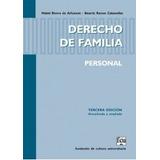 Derecho De Familia Personal - Mabel  Rivero De Arhancet