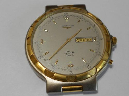 3049c33f2b95 Reloj Longines Conquest Despertador Acero Y Oro