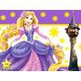 Invitaciones Enredados Rapunzel Diseñá Tarjetas , Cumples