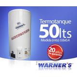Termotanque / Calefon Tanque De Cobre 50lts Warners Plus
