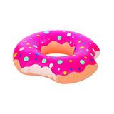Kangaroo's Two-bite 4 'giant Doughnut Inner Tube, Pool Fl