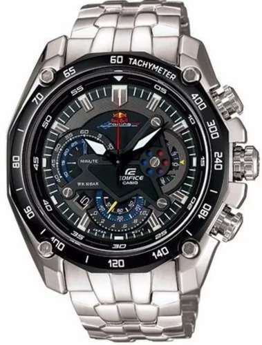 602cf65dc2a0 Reloj Hombre Casio Edifice Ef-550 Red Bull Original En Stock