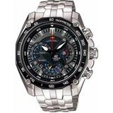 Reloj Hombre Casio Edifice Ef-550 Red Bull Original