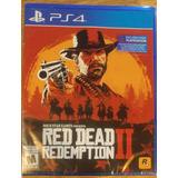 Red Dead Redemption 2 - De Ps4 - Fisico - Nuevo Sellado - Ya