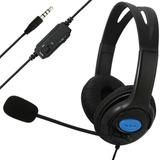 Auriculares Con Microfono Ps4 Xbox One Pc Notebook Celular ®