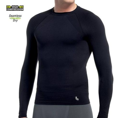online aquí nuevo autentico chic clásico Remera Camiseta Termica Lupo Hombre M / L Running Futbol Et ...