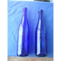 Botellas Azules De 750 Ml A Elecion C/ U { Vacias }