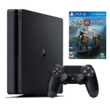 Playstation 4 Slim 1tb + God Of War 4, Macrotec