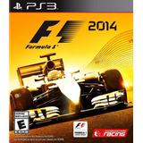 Formula 1 2014 F1 Uno 14 Juego Ps3 Original + Español
