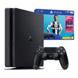 Consola Ps4 Play Station 4 Slim 1tb + Fifa 2019 Nueva! Amv