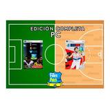 Fútbol Uruguayo + Liga Uruguaya De Basquetbol Pc Pes + Nba2k