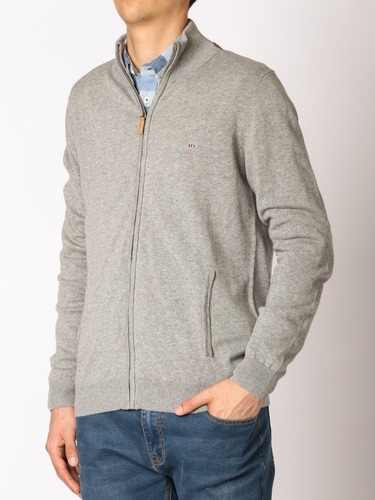 1266d22370d22 Sweater Cierre Entero Harrington Label- 470503