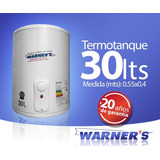 Termotanque Calefon Tanque Cobre 30 Lts Warners Punion