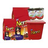 Nero Adulto 20 + 2kg + Contenedor + 2 Pate + 6 Pagos