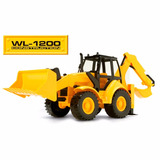 Excavadora De Juguete Wl-1200 Construcción - Toyfeliz
