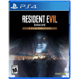 Resident Evil 7 Biohazard Gold Edition (físico) / Ps4
