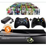 Xbox 360+2controles+3800 Juegos+5 A Elección Chito Games