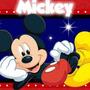 Invitaciones Mickey Mouse Personalizadas, Cumpleaños Fiesta