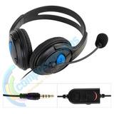 Auriculares Ps4 Con Microfono Celular Xbox One Pc Notebook