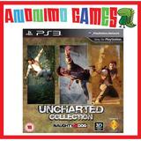 Uncharted 1 2 3 Trilogy Colección Saints Row 2 Playstation 3