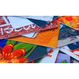 Tarjetas Plásticas En Pvc Personalizadas