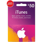 Itunes 50 Dólares Tarjeta Apple iPhone iPad Mac / Gift Card