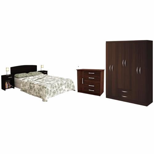 Juego dormitorio completo c sommier 7490 tx1se precio d for Precio dormitorio completo