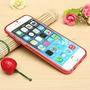 Protector Carcaza Iphone 6 6s Fucsia Ultra Fina Envio Ya !!