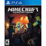 Minecraft Premium Juego Ps4 Original + Garantía + Español
