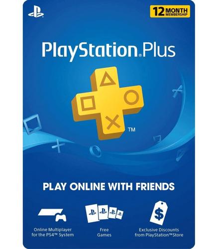 Plus Ps4 7 Meses. Online En Todos Los Usuarios Mas Juego