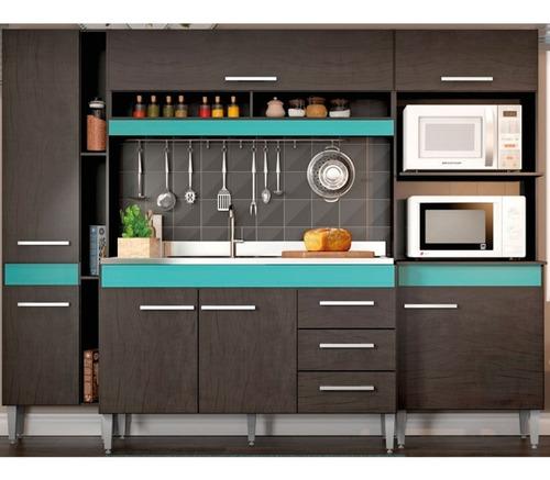 Mueble cocina amoblamiento completo 2205 6150 vdk2l - Precio modulos de cocina ...