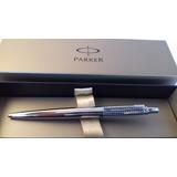 Lapicera Parker Jotter Premium Cromo Grabado Gratis