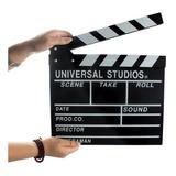 Claqueta Director Pizarra Cine Pelicula Rodaje Escena Cartel