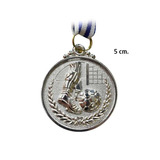 Medalla Futbol 5 Cm