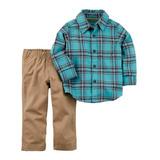 Conjunto Carters Ropa De Niño Formal Camisa Y Pantalón